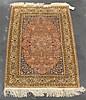 Silk Hereke rug, west anatolia, circa 2nd half 20th century,