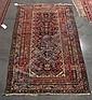 Hamadan rug, west persia, circa 1920,