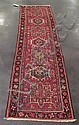 Two Northwest Persian rugs, 1st quarter 20th century, A Karadja long rug, 8 ft. 3 in. x 2 ft. 4 in.; and a Tabriz rug, 6 ft. 2 in. x 3