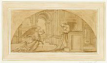 VENETIAN SCHOOL, (EARLY 16TH CENTURY), THE ANNUNCIATION