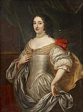 ANGLO FLEMISH SCHOOL, (17TH CENTURY), PORTRAIT OF A WOMAN