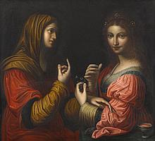 AFTER BERNARDINO LUINI, (ITALIAN 1475-1532),