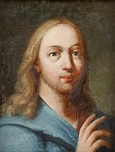 FOLLOWER OF ANTON RAPHAEL MENGS, (GERMAN 1728-1779), SALVATOR MUNDI