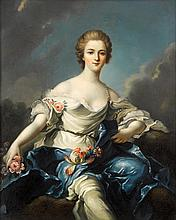 AFTER JEAN MARC NATTIER, (FRENCH 1685-1766), FLORA (MARQUISE DE BAGLION)