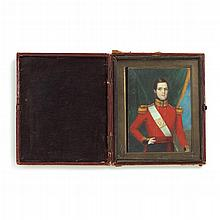 Company/Anglo School 19th century, officer of the royal fusiliers (7th regiment), circa 1840