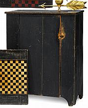 Painted pine jelly cupboard, pennsylvania, 19th century