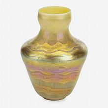 Fine Favrile glass vase, louis c. tiffany, new york, ny, early 20th century