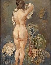GEORGE GROSZ, (GERMAN, 1893-1959), NUDE