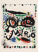 JOAN MIRÓ, (SPANISH, 1893-1983),