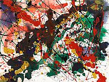 SAM FRANCIS, (AMERICAN, 1923-1994), UNTITLED