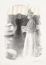 FÉLIX EDOUARD VALLOTTON, (SWISS, 1865-1925),