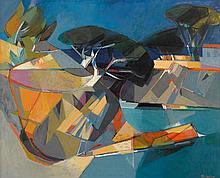 CAMILLE HILAIRE, (FRENCH, 1916-2004), RIVAGE MÉDITERRANÉEN