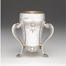 Edward VII silver loving cup, Russells Ltd., Sheffield, 1908-09