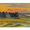 MAXIME MAUFRA, (FRENCH 1861-1918), LANDSCAPE AT DAWN, Maxime Maufra, $0