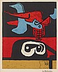 TWO PRINTS LE CORBUSIER, (FRENCH/SWISS, 1887-1965), UNTITLED PLATE II FROM