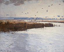 FRANK WESTON BENSON, (AMERICAN 1862-1951),