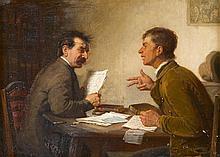 REINHARD SEBASTIAN ZIMMERMAN, (GERMAN 1815-1893),