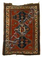 Kazak carpet, southwest caucasus, circa late 19th century,