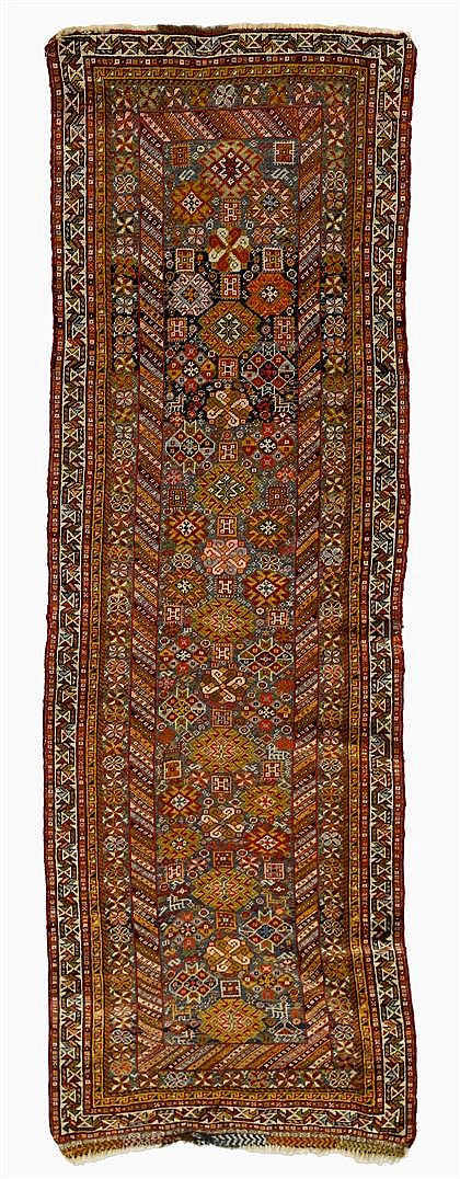 Qashqa'i runner, southwest persia, circa late 19th century,