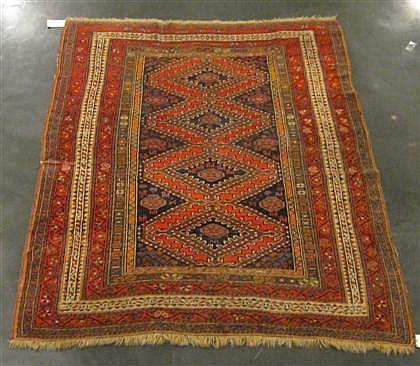 Luri rug, southwest persia, circa 1910,