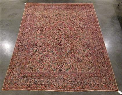 Kerman carpet, southeast persia, circa 1920,