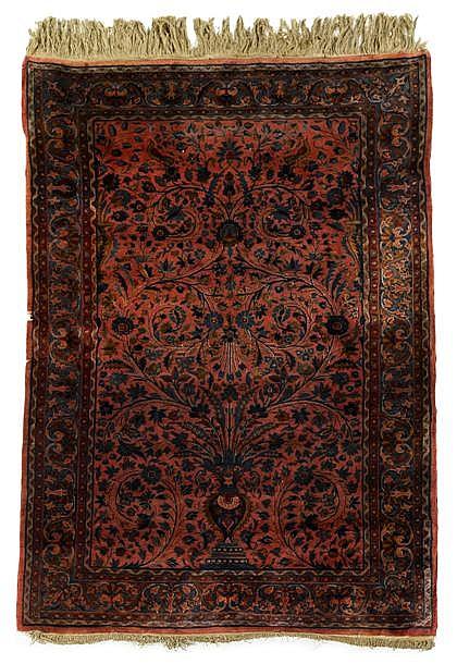 Kashan rug, central persia, circa 1910,