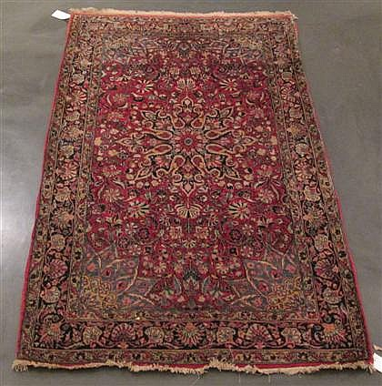 Sarouk rug, west persia, circa 1940,