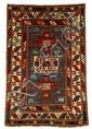 Karachopt Kazak rug, southwest caucasus, circa 1890,