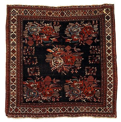 Afshar rug, southwest persia, circa late 19th century,