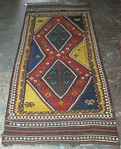 Qashqa'i kilim, southwest persia, circa 1900,