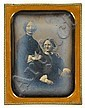 MARCUS A. ROOT, (AMERICAN 1808-1888), TWO WOMEN, Marcus Aurelius  Root, Click for value