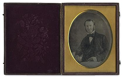 TWO CASED IMAGES, ,