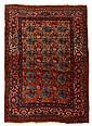 Bidjar rug, north persia, circa 1910,