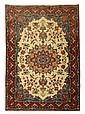Qum rug, central persia, circa 1930,
