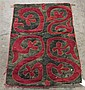 Uzbek or Kyrgyz felt rug, central asia, circa 19th century,