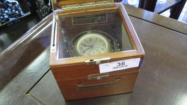 Hamilton Deck Clock Model 22 Lancaster, PA.