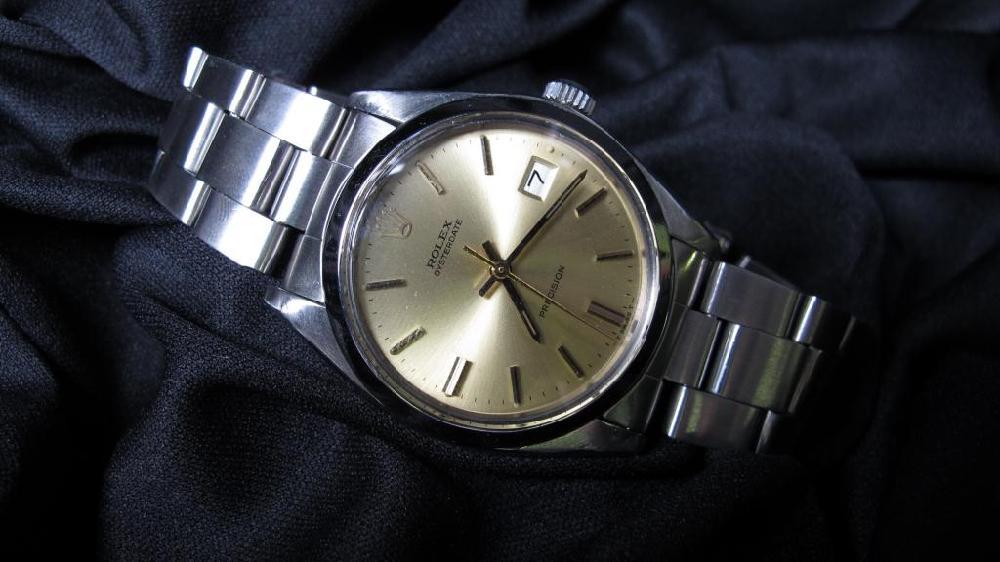 1978 era Men's Vintage Rolex Oysterdate Precision