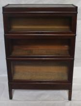 Macey Three Stack Barrister Bookcase