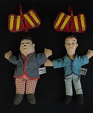 1964 Knickerbocker Marionettes Laurel & Hardy String Puppets