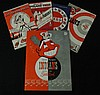 Cleveland Indians 1949 Yearbook and (4)diff. Year Game Programs