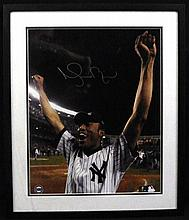 Mariano Rivera Signed 16x20 Photo Steiner Certs