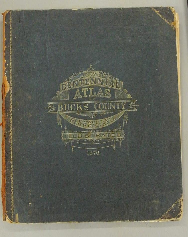New Centennial Atlas of Bucks County Pennsylvania