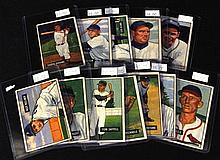 (12)Different 1951 Bowman Baseball Cards