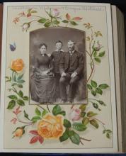 Folio of Victorian Era Cabinet Photos