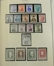 Exceptional Austria MNH Stamp Collection 1945-1998