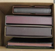 Five Mint Sheet File Albums & Stockbooks