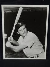 ?Bill Moose Skowron? Autographed 8 x 10 black and white photo