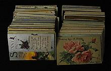 600-800 Mixed States Towns & Views Postcard Lot