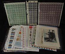 Box lot of Misc. Ephemera Stamps and Such