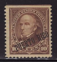 Puerto Rico 214 Rare Special Printing Variety w/Foundation cert